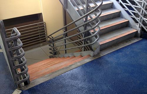 Photo of my parking garage stairwell