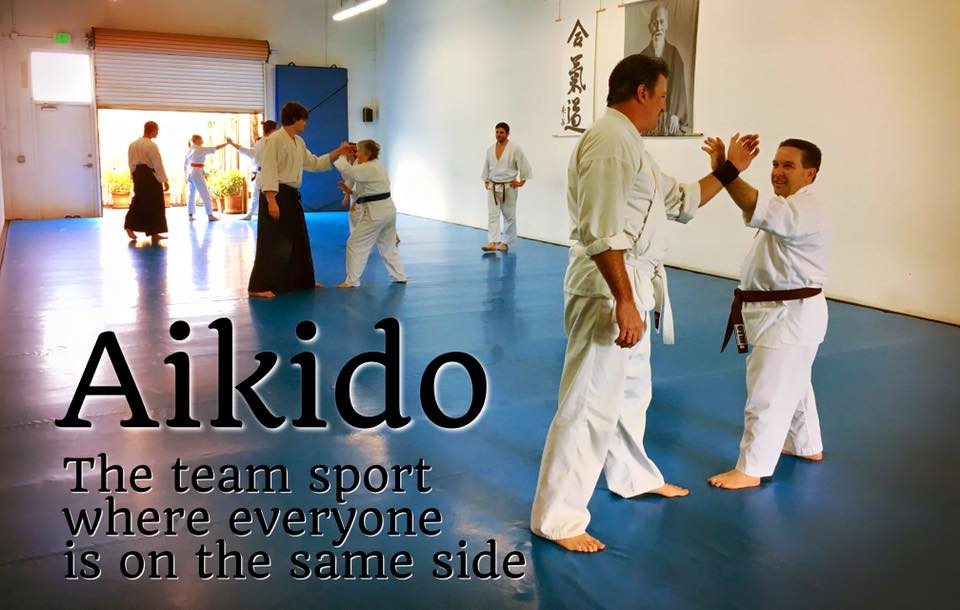 Aikido - The team sport where everyone is on the same side