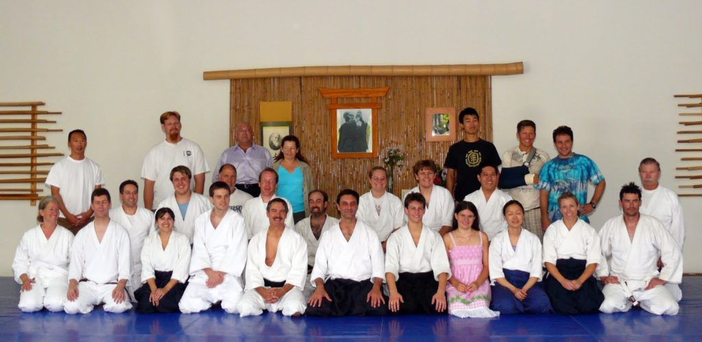Aikido of San Diego - Group Photo - 15 August 2009