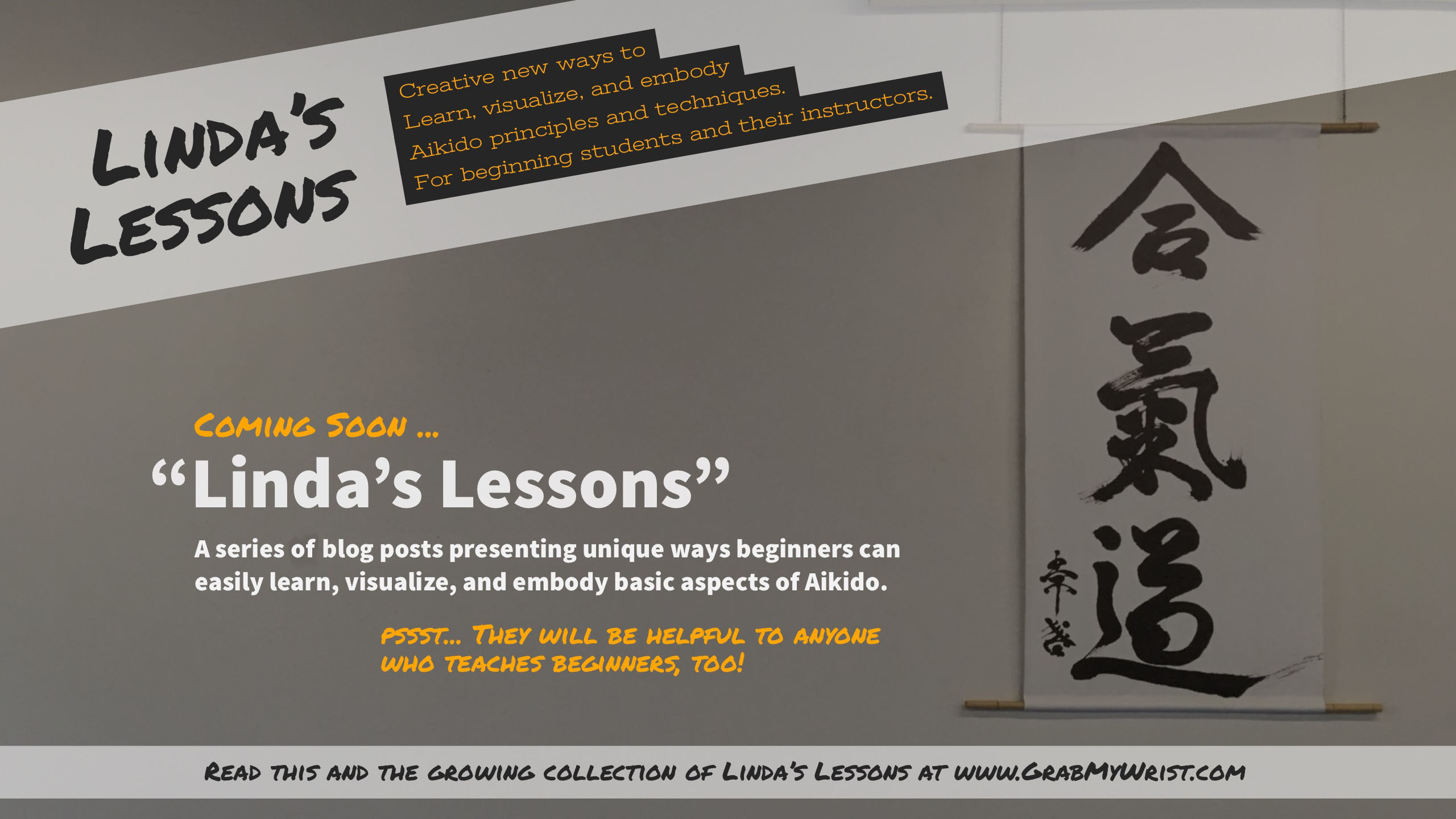 Linda's Lessons, for Aikido Beginners and Their Teachers - Coming Soon