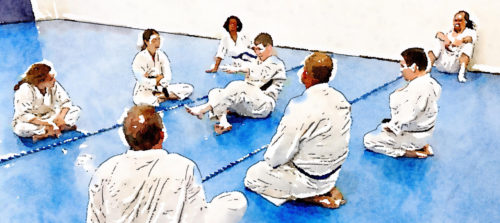 New Aikido students can benefit from focused work on rolling and falling