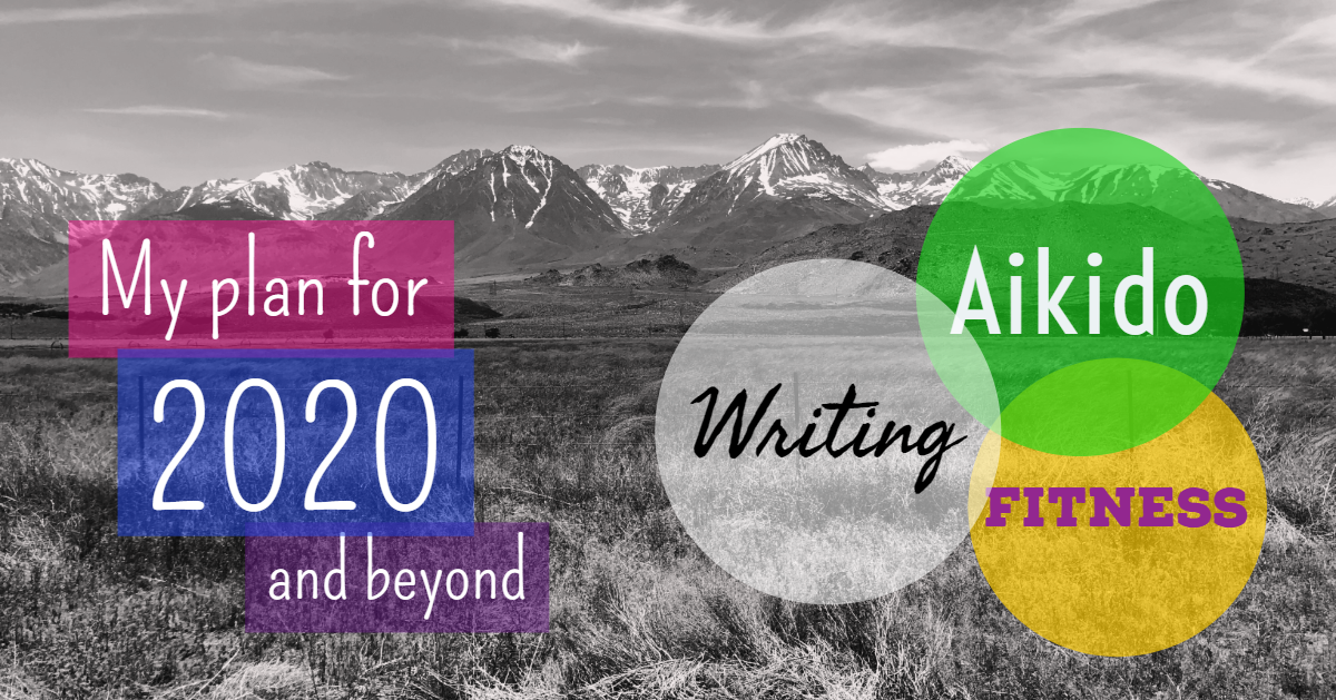 My plan for 2020 and beyond: Aikido, Writing, and Fitness