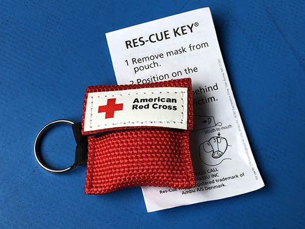 Red Cross CPR Breathing Mask