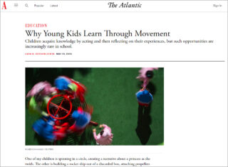 Movement Helps Children Learn